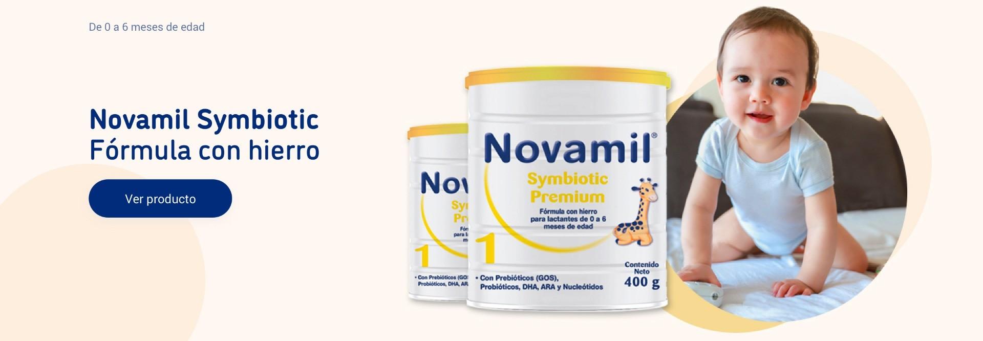 Novamil Symbiotic. Fórmula con hierro