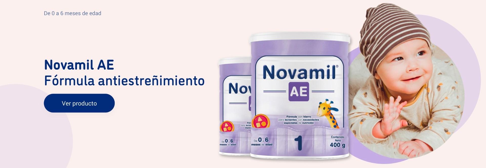 Novamil AE. Fórmula antiestreñimiento